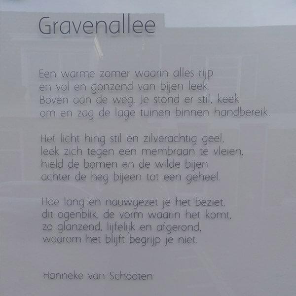Gravenallee Muurgedichten Almelo